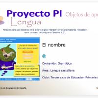 El nombre. Proyecto Descartes PI