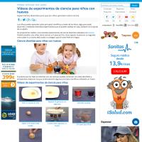 Experimentos de ciencias para niños