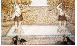 Lanzamiento y esquiva de piedras