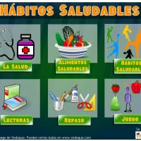 juego sobre hábitos saludables