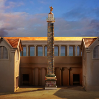 How Trajan's column was built