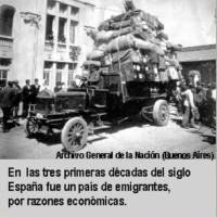 Movimientos migratorios en la España del siglo XX