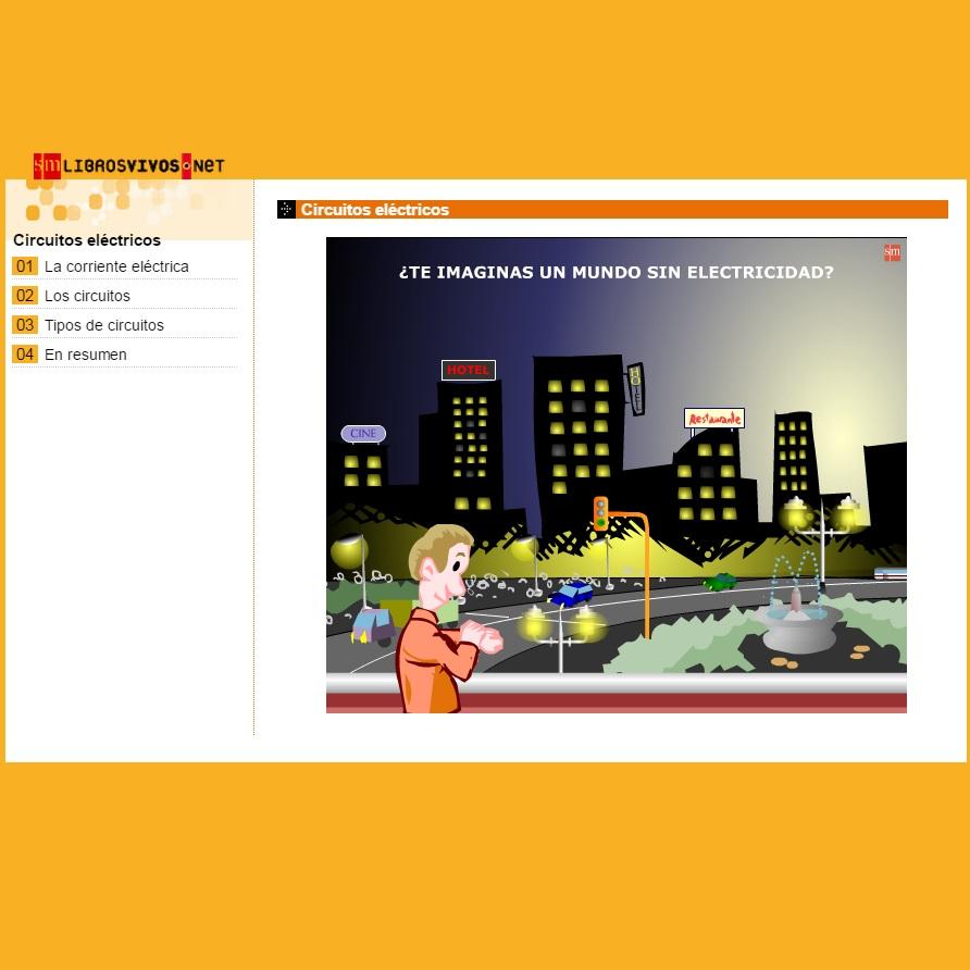 Circuito Significado : Circuitos eléctricos sm » recursos educativos digitales