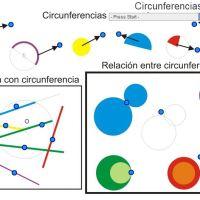 Circunferencias y rectas