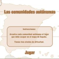 Comunidades Autónomas - Juego de arrastre