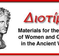 Diotima: materials for the study of women and gender in the Anciant World