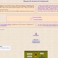 Übungen für Deutsch als Fremdsprache