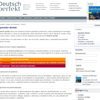 Deutsch perfekt Aprender Alemán