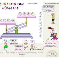 Equilibrio con números