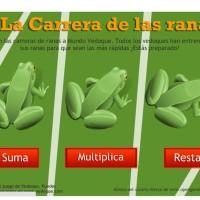 La carrera de las ranas
