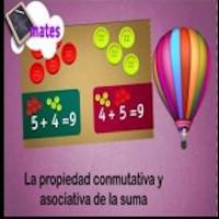 Las propiedades conmutativa y asociativa de la suma