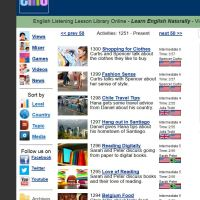 ELLLO (English Listening Library Online)
