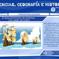 El descubrimiento de América: los viajes de Colón