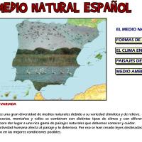 El medio natural español