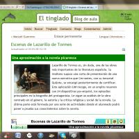 Escenas de Lazarillo de Tormes