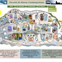Escuela de Atenas Contemporánea