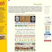 Proyecto Filosofía en español