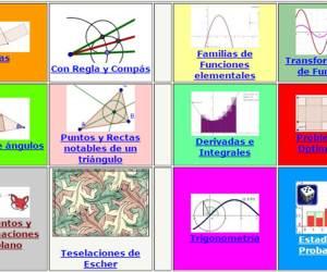 Web Interactivas Geogebra