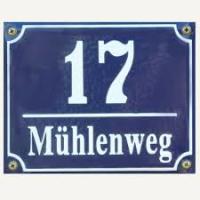 Hausnummern (1-100)
