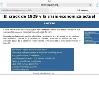 El crack de 1929