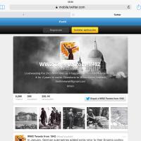 Tuiteando la Segunda Guerra Mundial