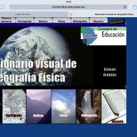 Diccionario visual de Geografía Física