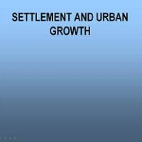 Settlement and urban growth
