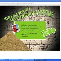 Egyptian tomb adventure