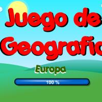 Juego de Geografía - Europa