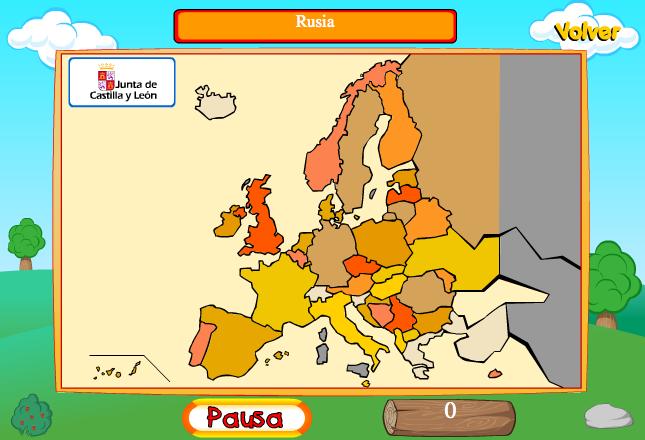 Juego de Geografa  Europa  Recursos educativos digitales