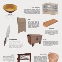 Lámina: mobiliario y enseres