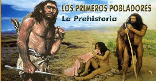 Resultado de imagen de Los primeros pobladores con conciencias primarias