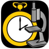 Cronómetro de laboratorio