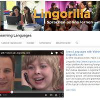 lingorilla.com Aprender con vídeos