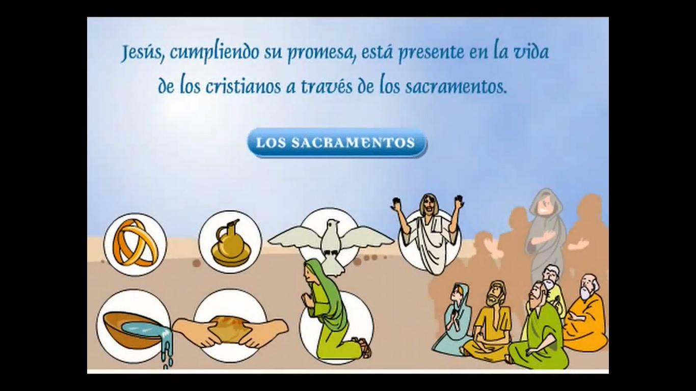 Los Signos Sacramentales Recursos Educativos Digitales