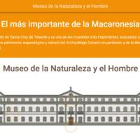 HTML5: Museo de la Naturaleza y el Hombre