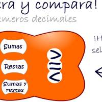 Opera-Compara Decimales