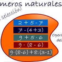 operaciones con números naturales (jerarquía)