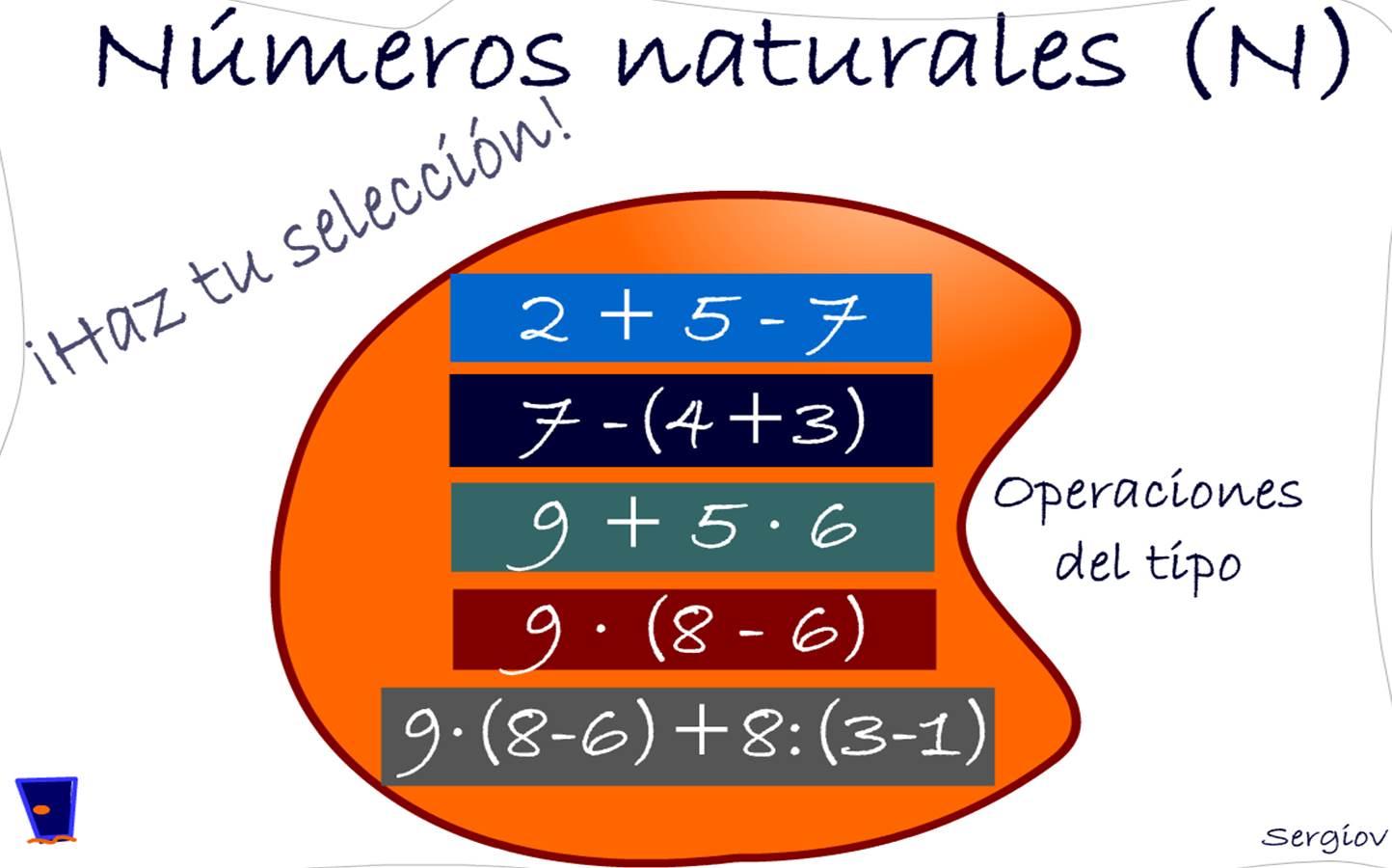 Operaciones Con Números Naturales Jerarquía Recursos Educativos Digitales
