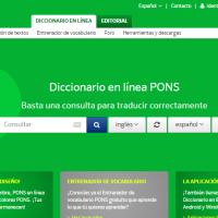 PONS Diccionario en línea