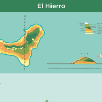 Infografía: Pisos de vegetación de El Hierro