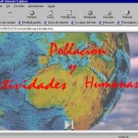 Población y actividades humanas