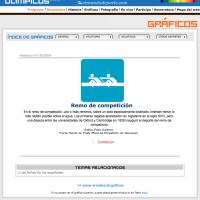 Deportes acuáticos: Remo de competición