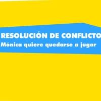 Resolución de conflictos: Mónica quiere quedarse a jugar