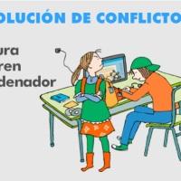Resolución de conflictos: Juan y Laura quieren el ordenador