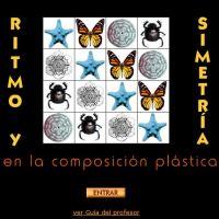 Ritmo y Simetría en la composición plástica