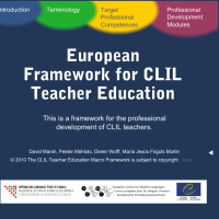 European Framework for CLIL Teacher Education