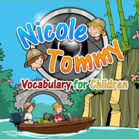 Nicole and Tommy. English vocabulary