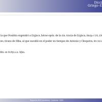 Diccionario Griego-Español en línea