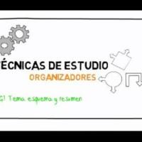 Técnicas de estudio: tema, esquema y resumen